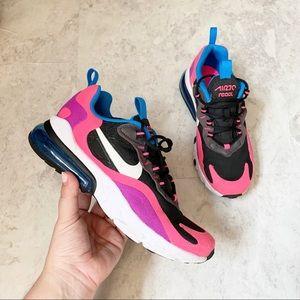 Nike Air Max React 270 Hyper Pink Black Sneakers